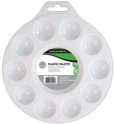 Palett i plast med 10 koppar