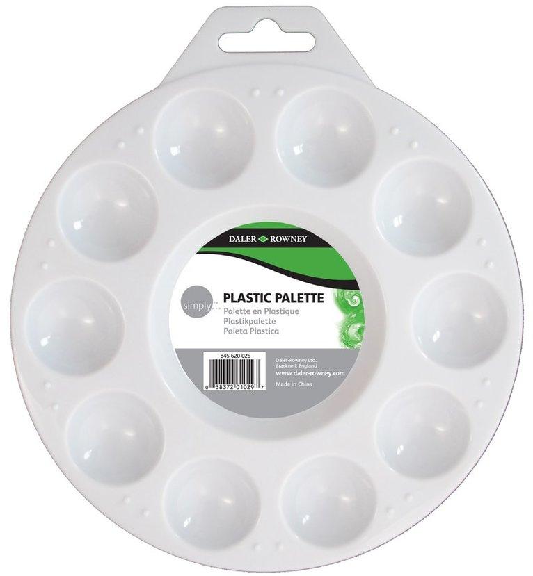 Palett i plast med 10 koppar 1