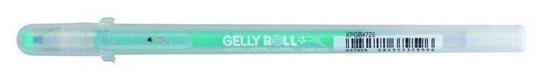 Gelpenna Gelly Roll Stardust grön 1
