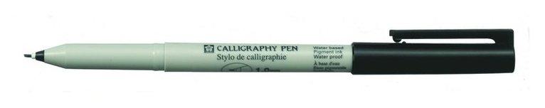 Kalligrafipenna 1mm Sakura svart 1