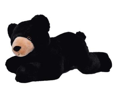 Mjukdjur svartbjörn Ecokins 36cm