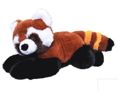 Mjukdjur röd panda Ecokins 26cm