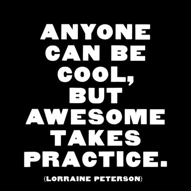 Magnet Anyone Can Be Cool, But Awesome Takes Practice