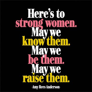 Magnet Here´s To Strong Women