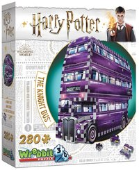 Pussel 280 bitar 3D Harry Potter The Knight Bus