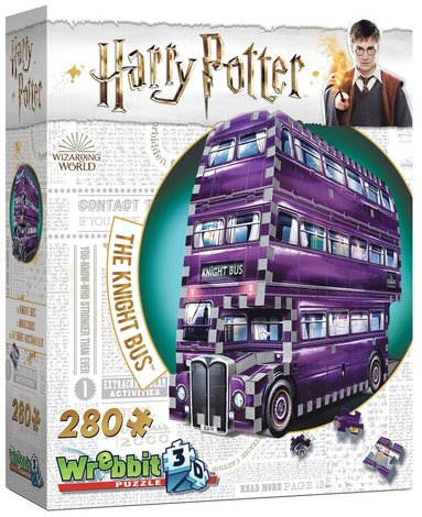 Pussel 280 bitar 3D Harry Potter The Knight Bus 1