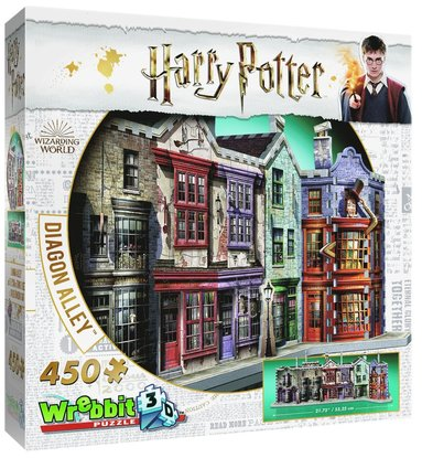 Pussel 450 bitar 3D Harry Potter Diagon Alley 1