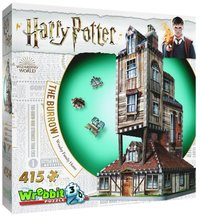 Pussel 415 bitar 3D Harry Potter The Burrow Weasley Family Home