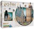bokomslag Pussel 850 bitar 3D Harry Potter Hogwarts Great Hall