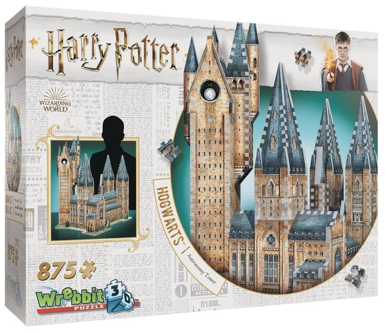 Pussel 875 bitar 3D Harry Potter Hogwarts Astronomy Tower 1