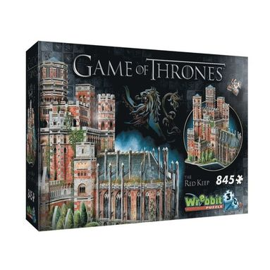 Pussel 845 bitar 3D Game of Thrones The Red Keep