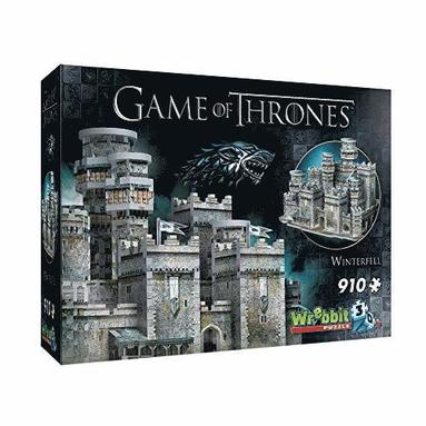 Pussel 910 bitar 3D Game of Thrones Winterfell