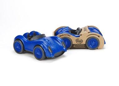 Leksak racerbil blå