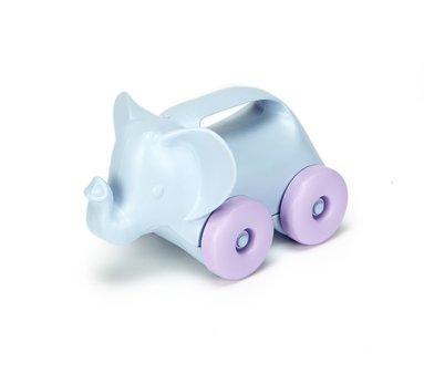 Leksak elefant på hjul