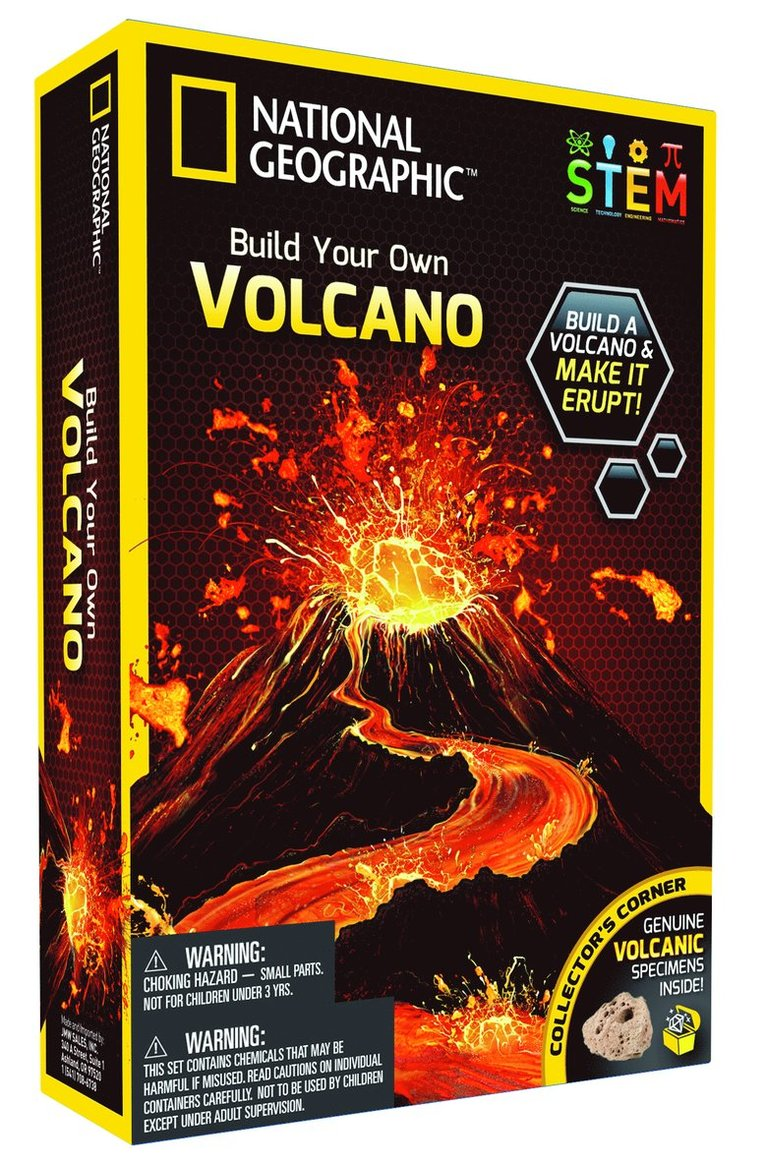National Geographic Volcano Science Kit 1
