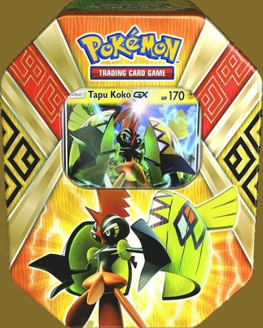 Samlarkort Pokémon Island Guardians plåtask 1