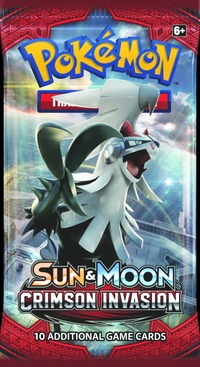 Samlarkort Pokémon Crimson Invasion Booster