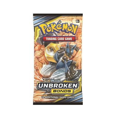 Pokémon: Sun & Moon 10 Unbroken Bonds - Booster