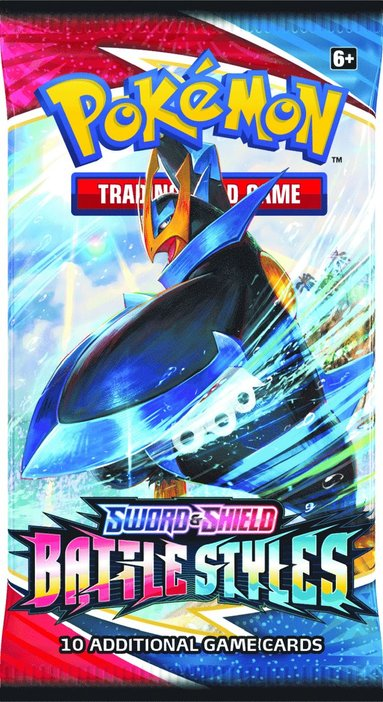 Pokemon Sword & Shield Battle Styles booster 1