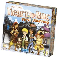 Spel Ticket to Ride - First Journey