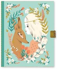 Dagbok med lås Lucille turkos
