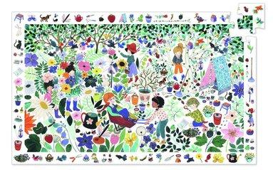 Pussel 100 bitar + poster 1000 flowers