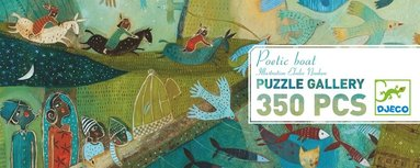 Pussel 350 bitar Poetic boat 1