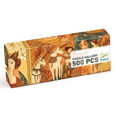 Pussel 500 bitar Unicorn Garden