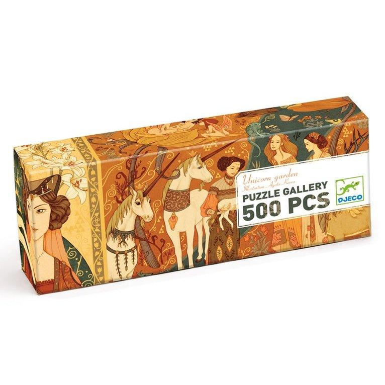 Pussel 500 bitar Unicorn Garden 1