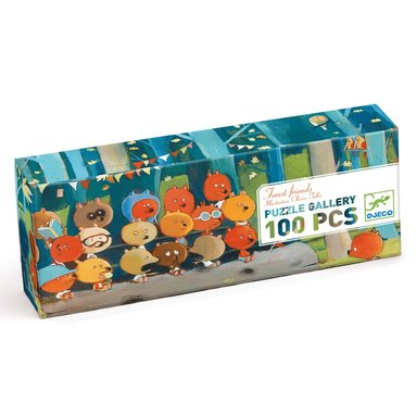 Pussel 100 bitar Forest friends  1