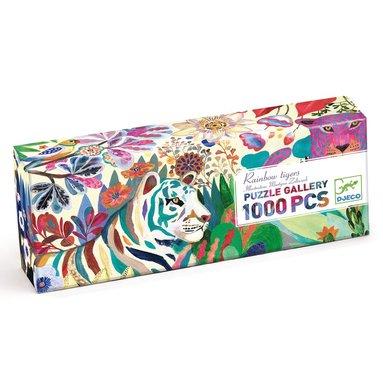 Pussel 1000 bitar Tiger  1