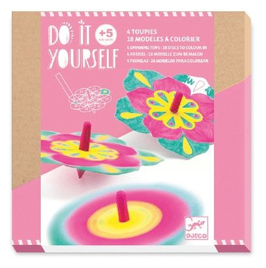 Do it yourself - Spinner blommor