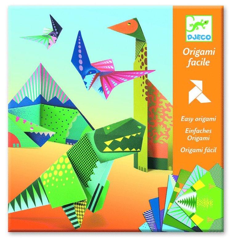 Origami dinosaurier 1