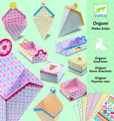Origami små askar 1