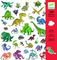 Klistermärken dinosaurier 160st