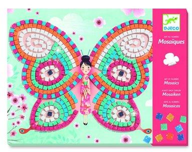 Mosaikpyssel fjärilar
