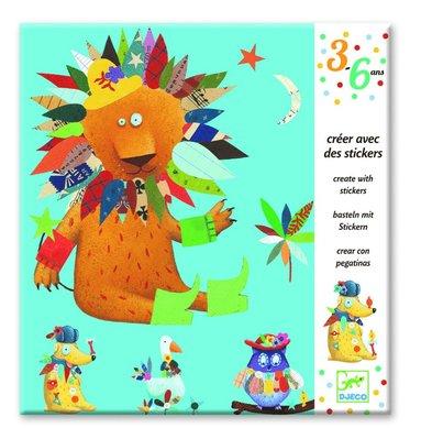 Klistermärken dekorera djur 1