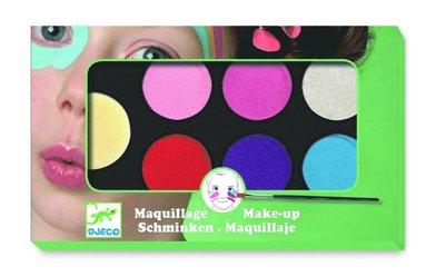 Ansiktsfärg 6 färger Sweet