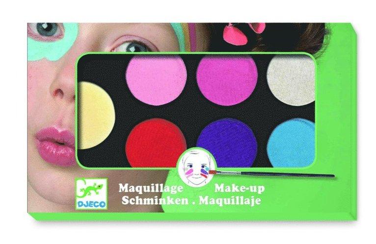 Ansiktsfärg 6 färger Sweet 1