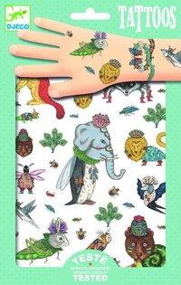Tatueringar djur