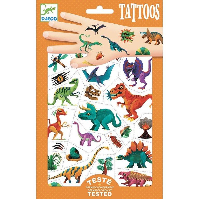 Tatuering Dino club 1
