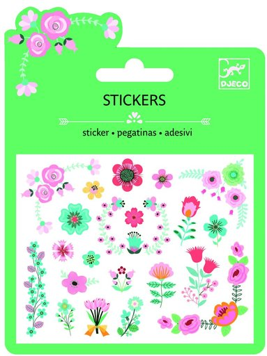 Ministickers med blommor 1