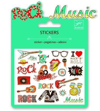 Ministickers pop och rock