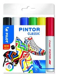 Märkpenna Pilot Pintor Classic M 6-pack
