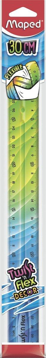 Linjal 30cm Twist