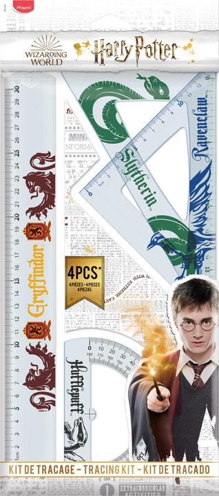 Linjalset 4 delar Harry Potter