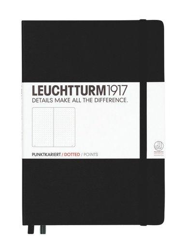 """Anteckningsbok """"Bullet Journal"""" Leuchtturm A5 prickad svart"""