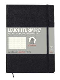 """Anteckningsbok A5 Leuchtturm1917 """"Bullet Journal"""" mjuk svart"""