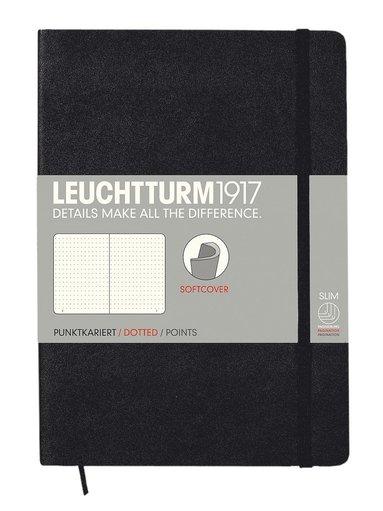 """Anteckningsbok A5 Leuchtturm1917 """"Bullet Journal"""" mjuk svart 1"""