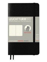 "Anteckningsbok Leuchtturm1917 ""Bullet Journal"" A6 prickad mjuk svart"